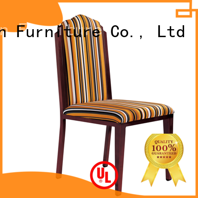 San Dun ladder back wood chair with upholstered seat ya008 for hotel