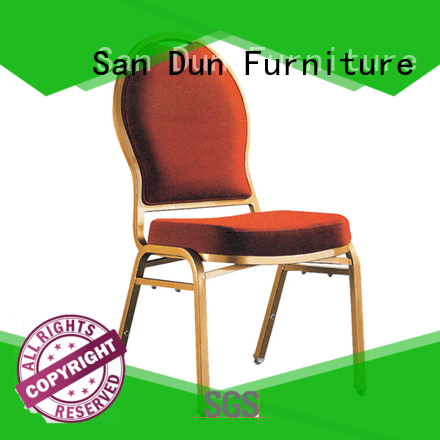 San Dun practical aluminum patio dining chairs company for party hall