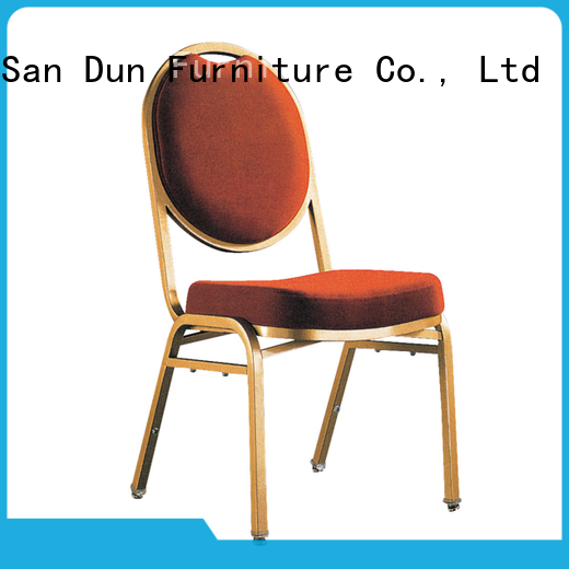 San Dun top quality steel chairs for sale with good price for promotion