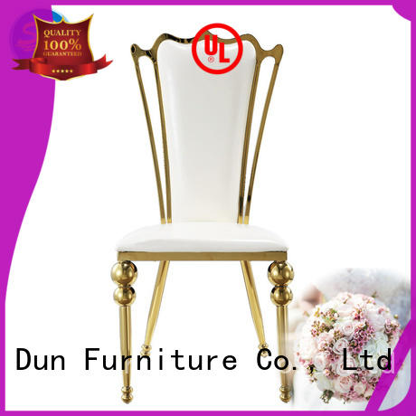 gold metal chair bride for hotel San Dun