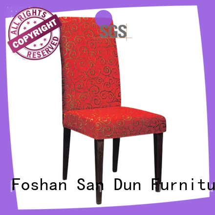 San Dun decorative wooden chair directly sale for restaurant