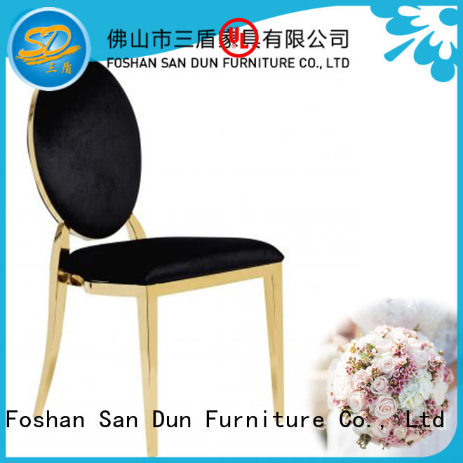 gold metal chair ballroom for restaurant San Dun
