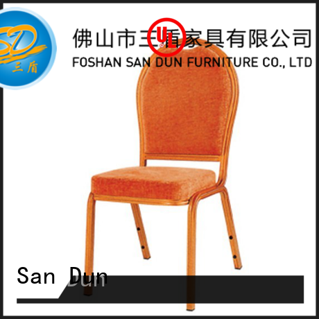 San Dun new aluminum patio dining chairs company for promotion