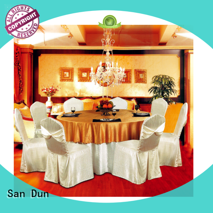 San Dun party table linens suppliers for meeting