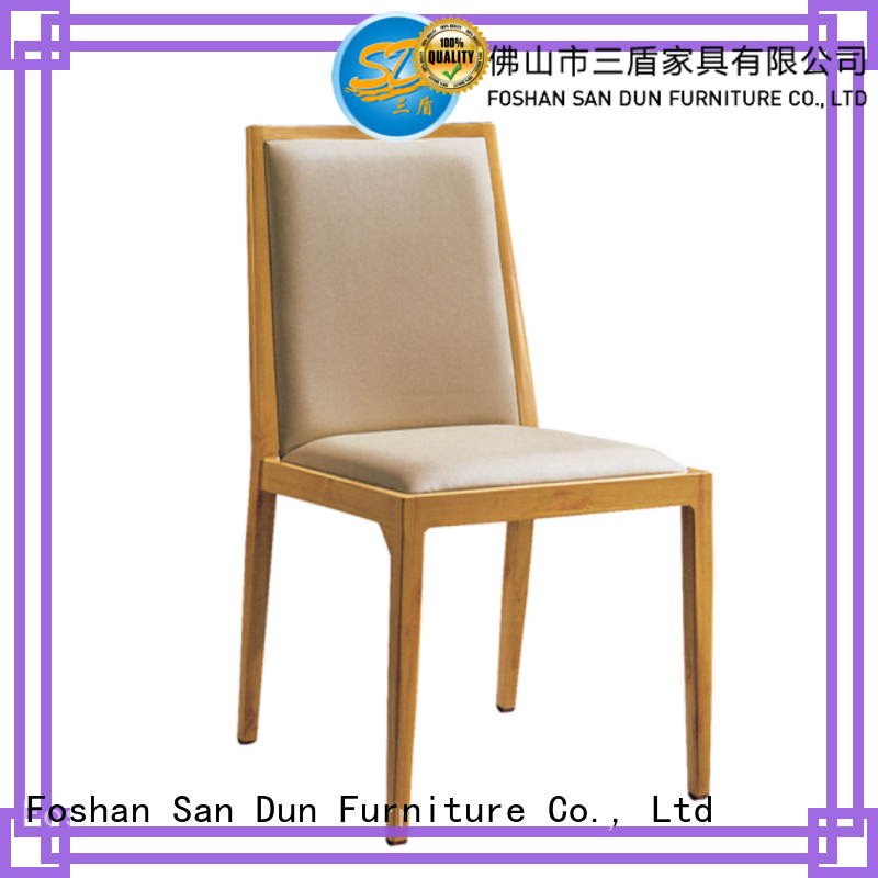 San Dun best price aluminum dining chair supplier for restaurant