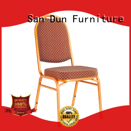 San Dun worldwide steel chair for dining table factory direct supply for cafes