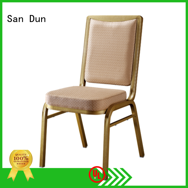 San Dun stacking chairs factory direct supply for hotel banquet
