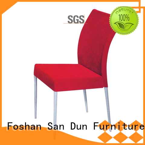 San Dun round wooden dining chairs supplier for restaurant