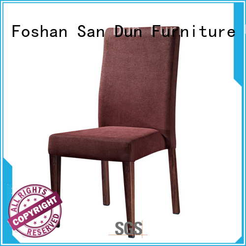 San Dun top wooden chair upholstered seat best supplier for hotel