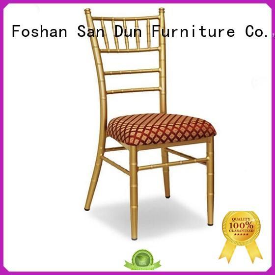 Hot Sale Stacking Metal Wedding Chair YC-003