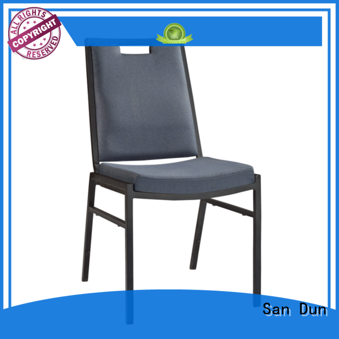 durable steel leg chair with good price for sale