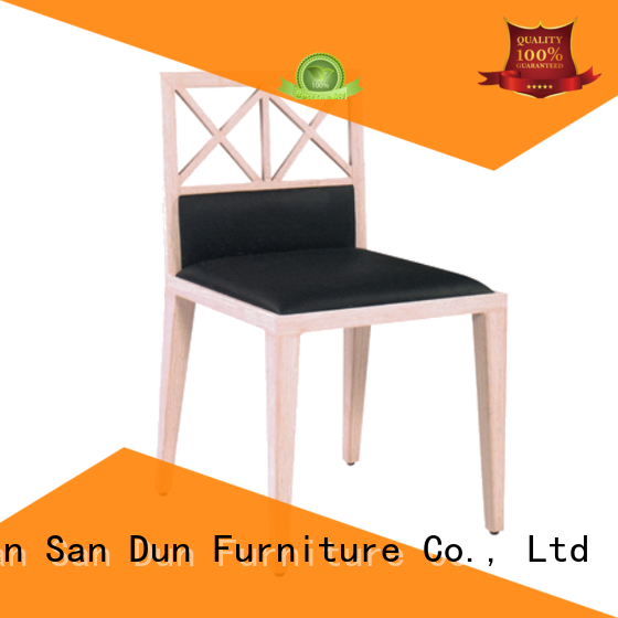 San Dun bentwood wooden dinner chairs button hotel
