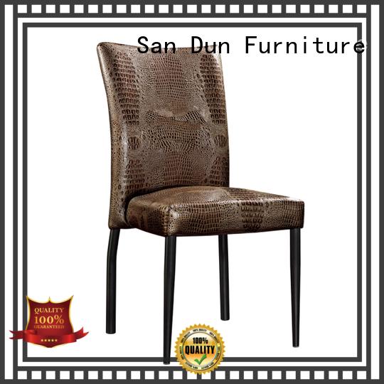San Dun new brushed steel dining chairs wholesale bulk buy