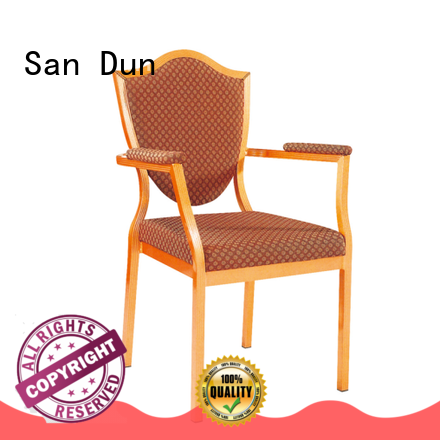 San Dun popular aluminum chair factory for hotel banquet