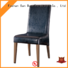 round wooden chair with cushion China for restaurant San Dun