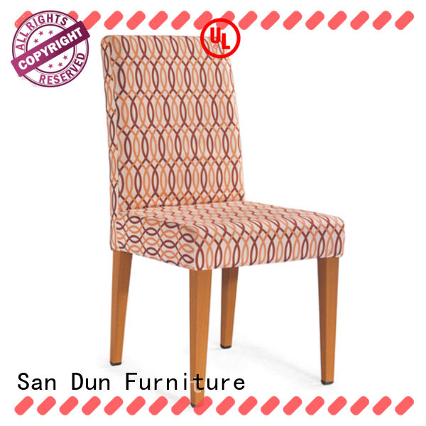 San Dun factory price wooden chair seats factory direct supply for hotel