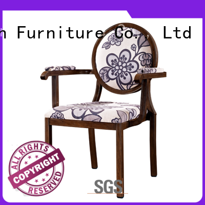 practical aluminum dining chairs from China for restaurant