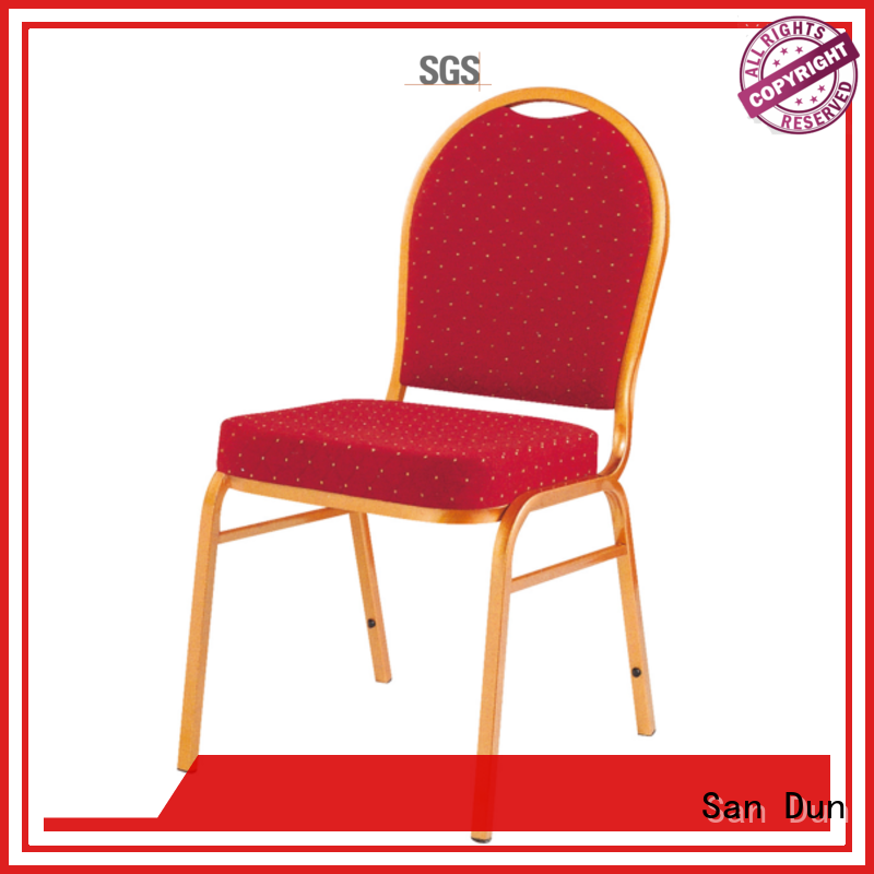 San Dun new modern steel chair with good price for cafes