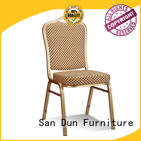 San Dun low-cost aluminium stacking chairs supplier for meeting