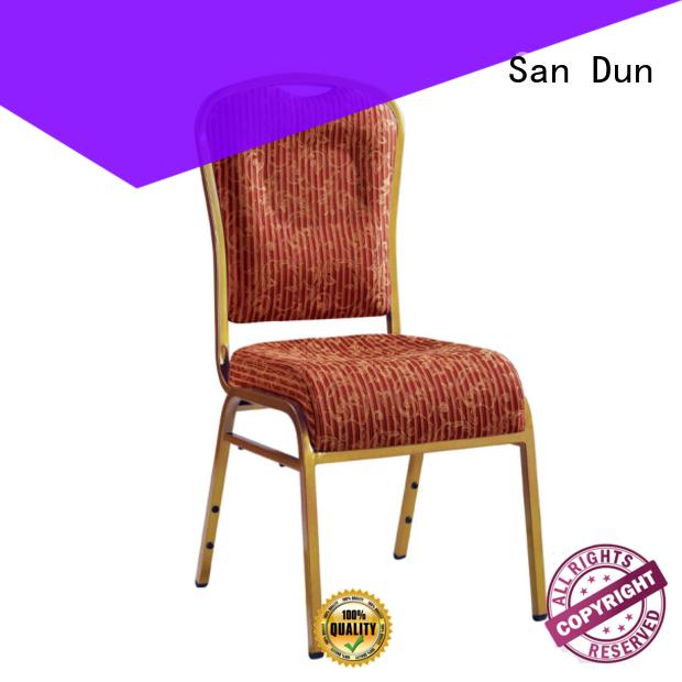 San Dun new steel chair design directly sale bulk production