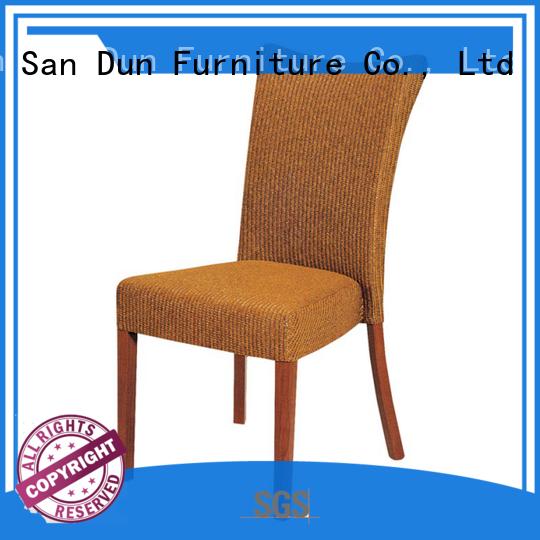 San Dun unique wooden chairs series bulk production