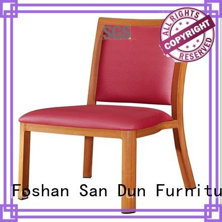 San Dun latest quality wood dining chairs wholesale for restaurant