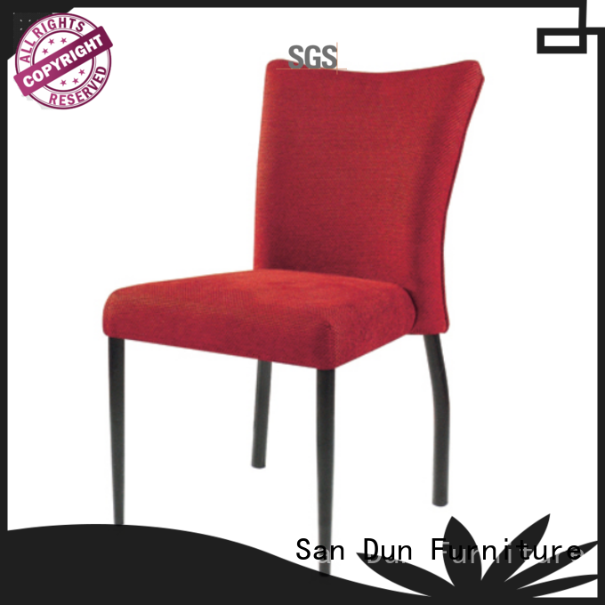 San Dun factory price stackable metal chairs factory direct supply for restaurant
