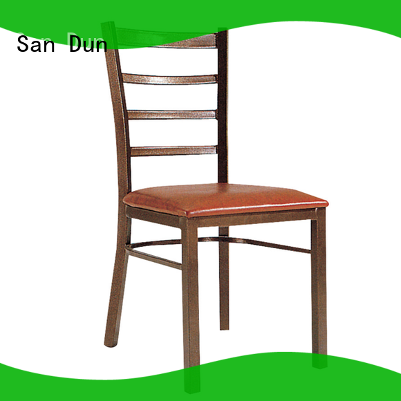 San Dun steel round chair factory for cafes
