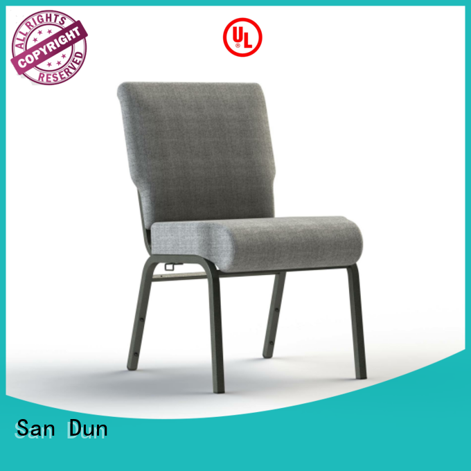 San Dun steel frame dining chairs suppliers for sale