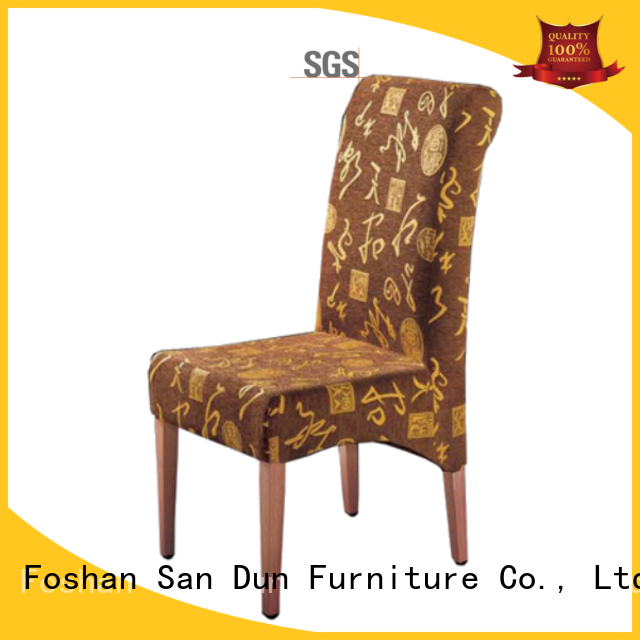 San Dun velvet luxury wooden chairs furniture party