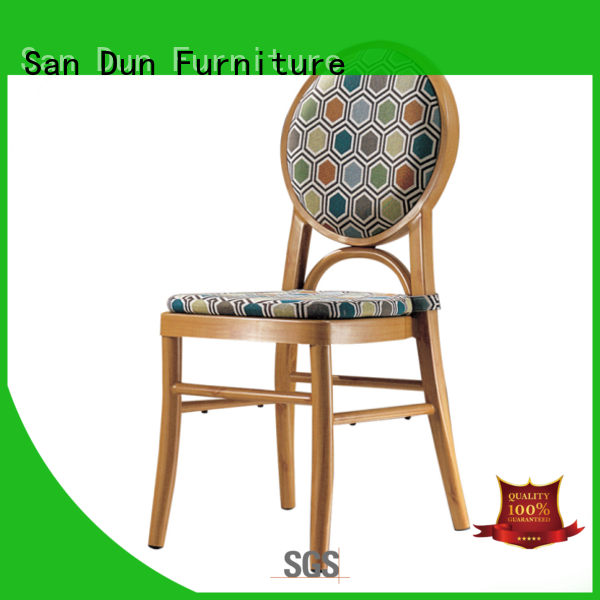 San Dun aluminum restaurant chairs supply for meeting