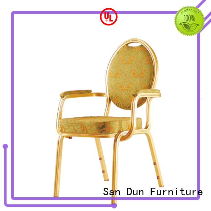 San Dun practical aluminum dining chair supply for coffee shop