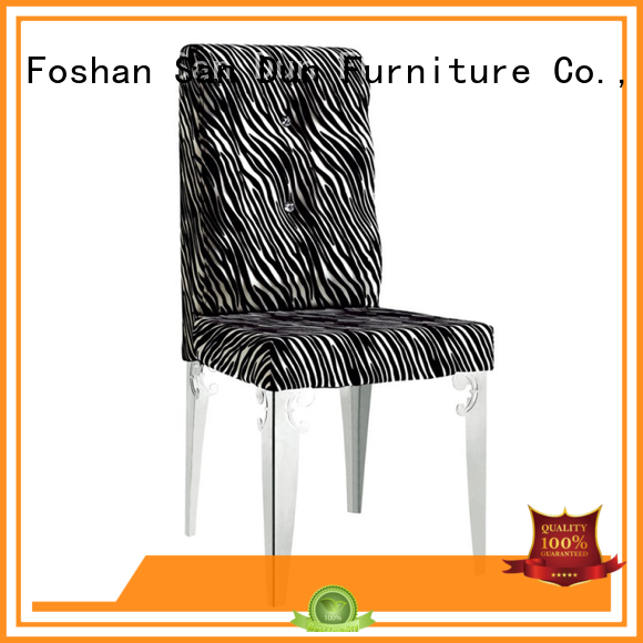 San Dun chinastyle wood chair with upholstered seat supplier for wedding