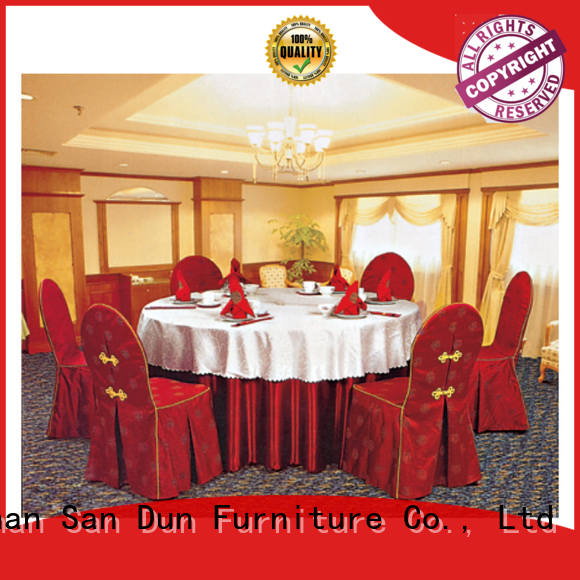 San Dun promotional tablecloths for 8 foot banquet tables with good price bulk production