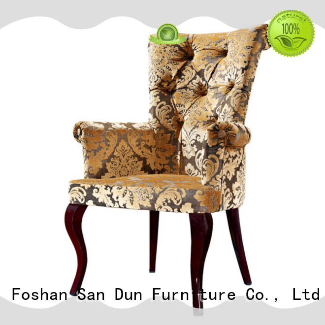 fabric wooden dinner chairs furniture for wedding