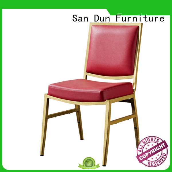 San Dun worldwide aluminum dining chairs series for promotion