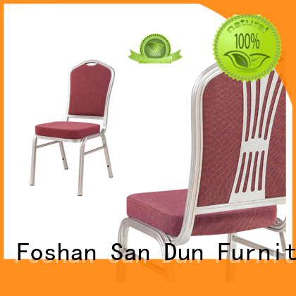 San Dun restaurant aluminum chair manufacturer bulk production