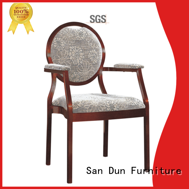 San Dun restaurant aluminum chair factory direct supply for restaurant