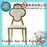 bridegroom Stainless Steel Chair manufacturer back for restaurant San Dun
