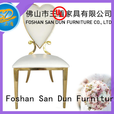 design Stainless Steel Chair Series manufacturer for hotel San Dun