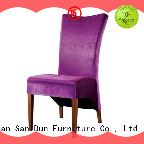 San Dun wooden chair with cushion furniture party