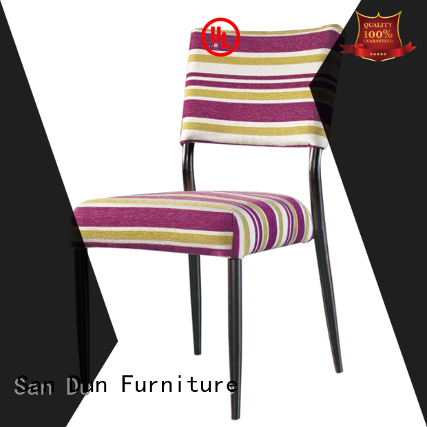 San Dun reliable steel chair design company for cafes