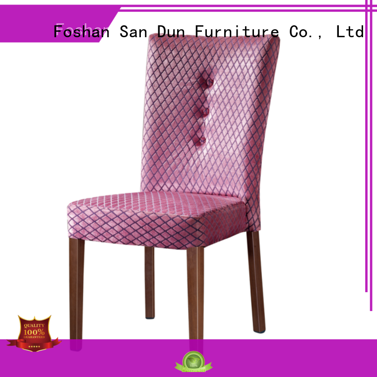 noble wood dining chairs with upholstered seats ya014 for dining San Dun