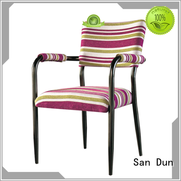 durable steel chair for dining table supplier for coffee shop