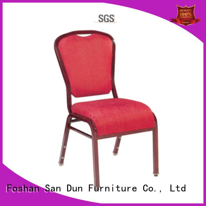 San Dun aluminium garden chairs factory direct supply for sale