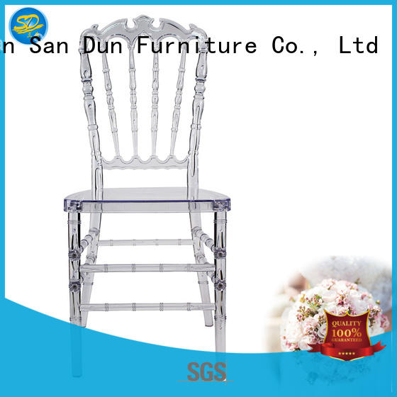 HOTEL WEDDING RESIN STACKING CHAIR YRC-006