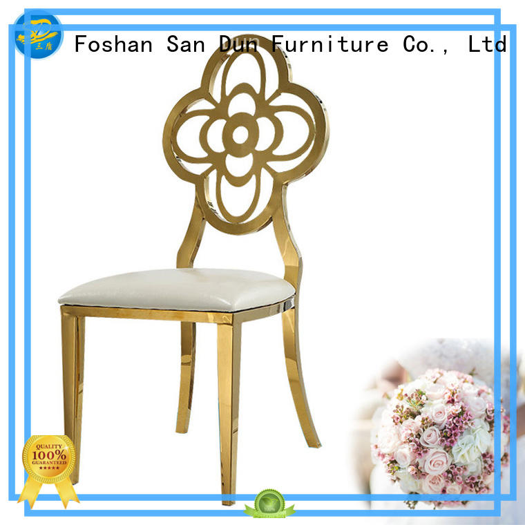 San Dun ys010 vintage metal chairs promotion for restaurant