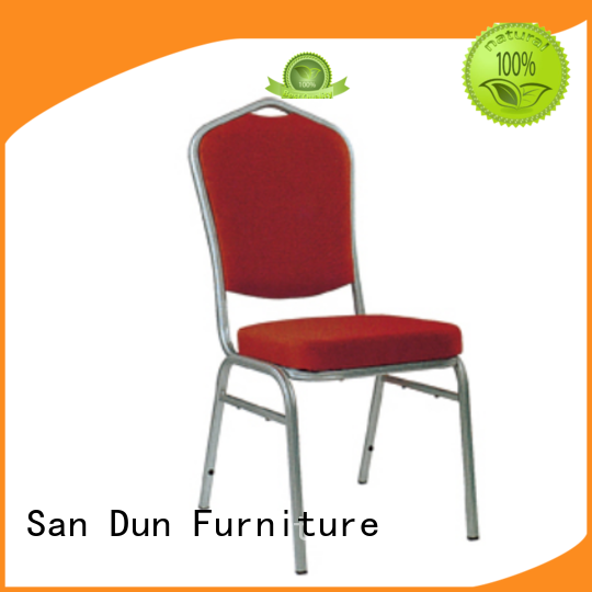 quality aluminium stacking chairs wholesale for party hall