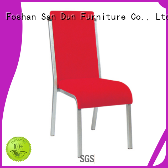 San Dun steel frame dining chairs directly sale for promotion