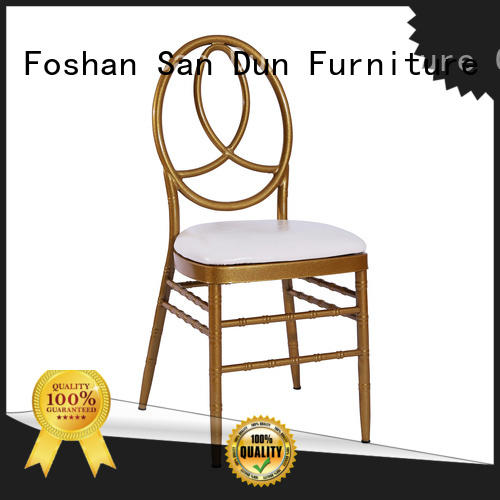 San Dun quality rose gold chiavari chairs directly sale for hotel